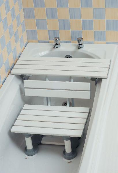 combinatie badplank en badzit